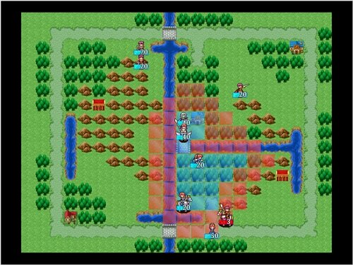 コーネリア戦記 Game Screen Shot1