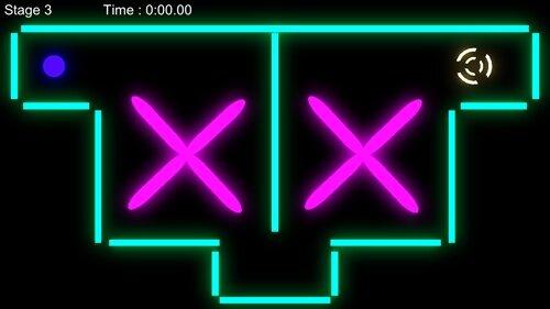 Luminous Ball Game Screen Shot1