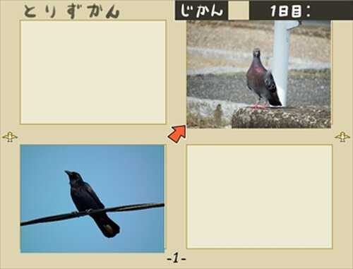とりずかん Game Screen Shot5