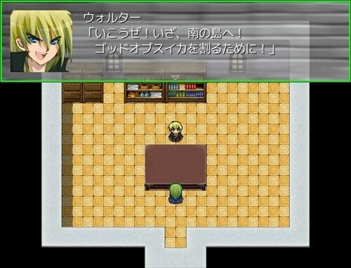 スイカ割り激戦記 Game Screen Shot1