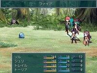 Liberty Stepのゲーム画面