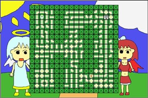 天使のんと悪魔のサキ Game Screen Shot3