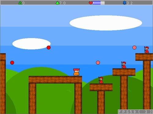 村人と分裂のヤシーユ Game Screen Shot1