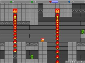 村人と分裂のヤシーユ Game Screen Shot4