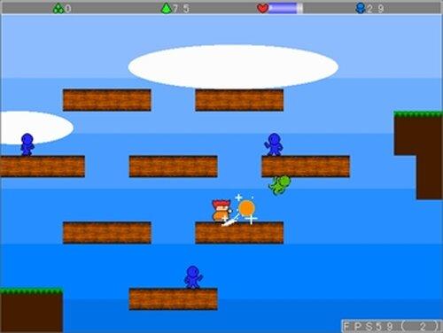 村人と分裂のヤシーユ Game Screen Shots