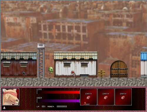 肉の牢獄 Game Screen Shot1