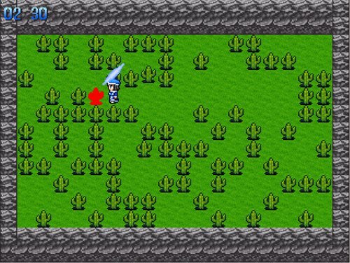 サボテンを斬れ! Ver.2.0 Game Screen Shot1