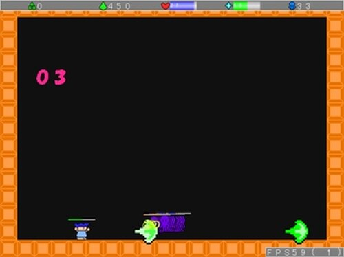 ひたすら戦え! Game Screen Shot4
