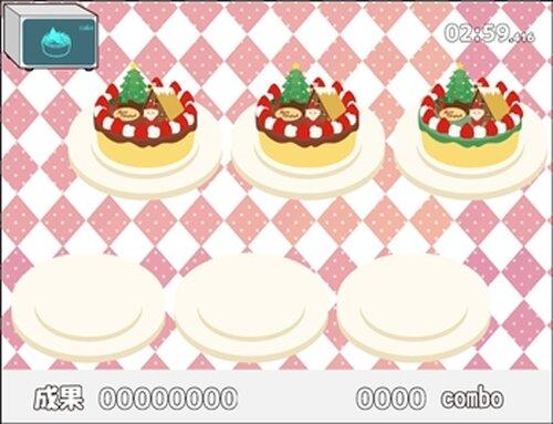 うさぎとかめとクリスマスケーキ Game Screen Shot4