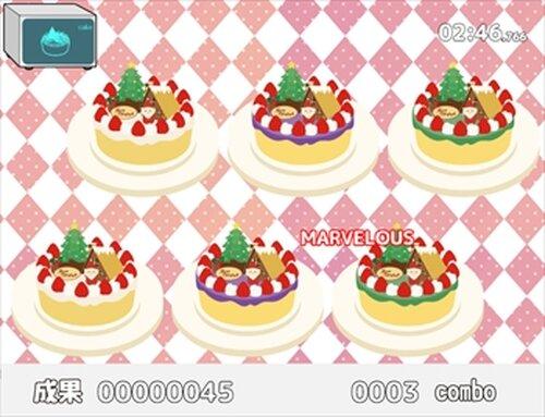 うさぎとかめとクリスマスケーキ Game Screen Shot5