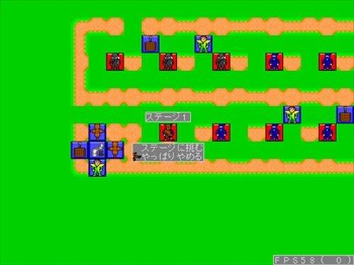 ロープアクション忍者 国逆の黒髑髏 Game Screen Shot3