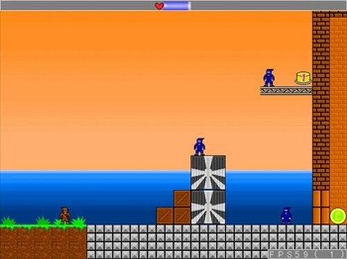 ロープアクション忍者 国逆の黒髑髏 Game Screen Shot5