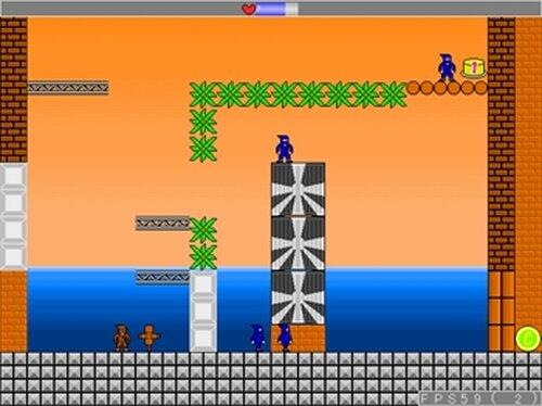 ロープアクション忍者 国逆の黒髑髏 Game Screen Shots