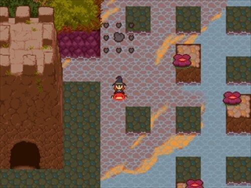 夕闇の森の星拾い Game Screen Shot4