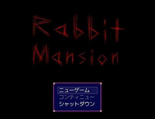 Rabbit Mansion Game Screen Shot1