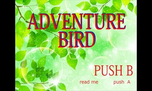 ADVENTURE BIRD Game Screen Shot2