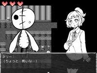 ネリーと人形の町のゲーム画面