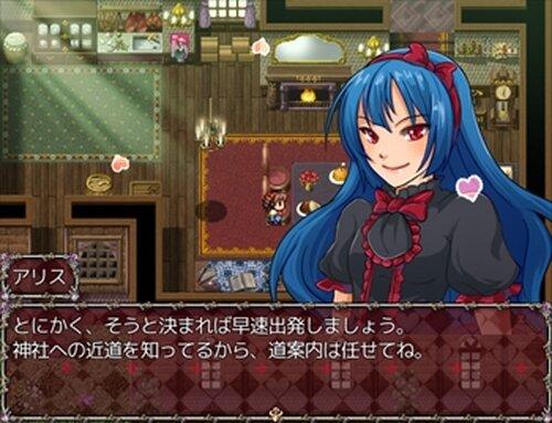 閃光の初詣 Game Screen Shot3
