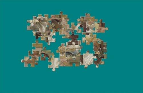 『絵画パズル』 ルノワール Game Screen Shot2