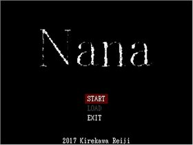 Nana(試作版 Ver.1.05) Game Screen Shot2