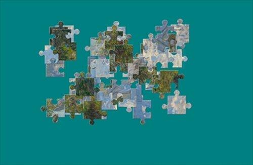 『絵画パズル』 モネ Game Screen Shot2