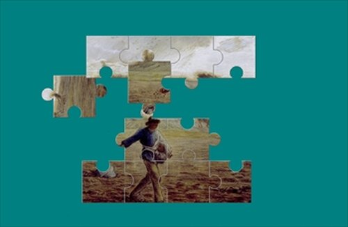 『絵画パズル』 ジャン=フランソワ・ミレー Game Screen Shot2