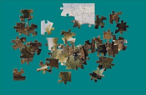 『絵画パズル』 ジャン=フランソワ・ミレー Game Screen Shot3