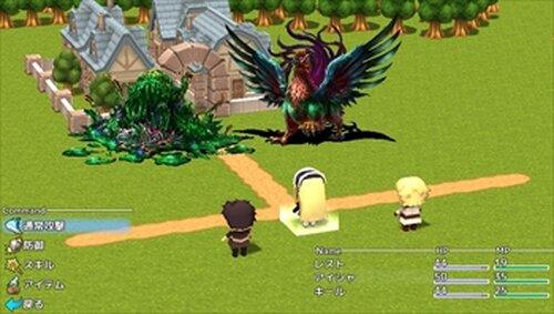 クイズ冒険をしてみました Game Screen Shot2
