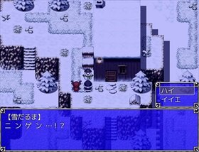 ブラックサンタと雪だるま Game Screen Shot2