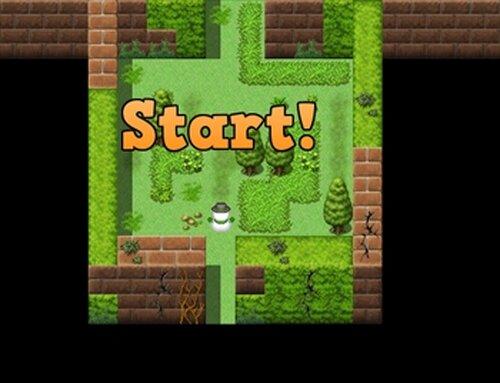 ブラックサンタと雪だるま Game Screen Shot5