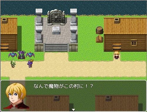 村人成長物語(仮) Game Screen Shot1