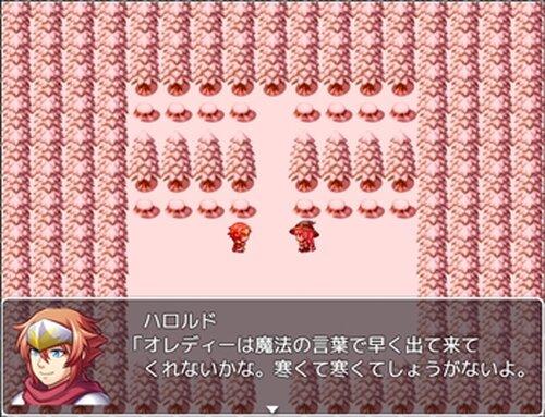 オレディーのおしくらまんじゅう Game Screen Shots