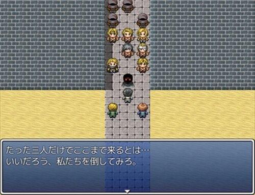 脱獄戦争(未完成版) Game Screen Shot3