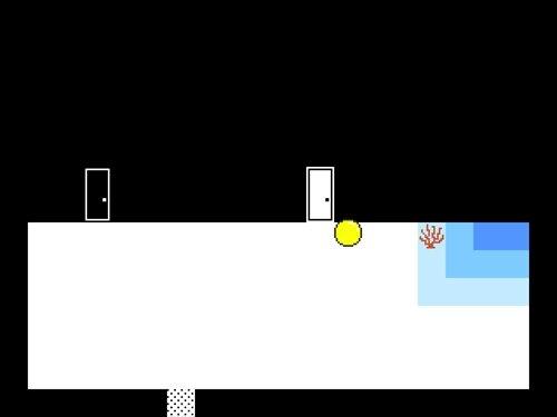 黒と白とぷにぷに Game Screen Shot1