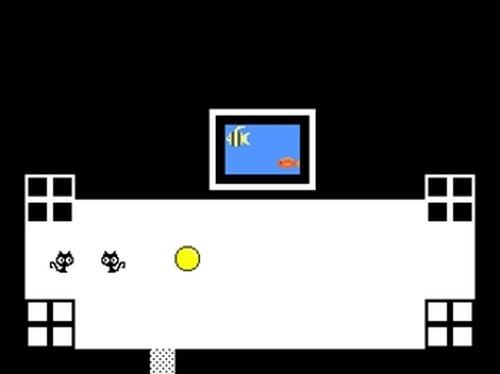 黒と白とぷにぷに Game Screen Shot3