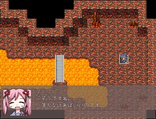 星の塔と初雪少女 Game Screen Shot4