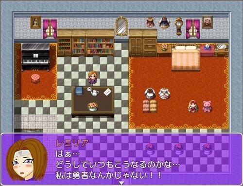 真剣で勇者になりなさい! Game Screen Shot1