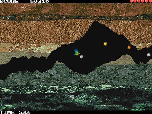 閃撃イライラ鳥 Game Screen Shot1