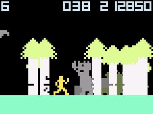カラテカのようさく Game Screen Shot1