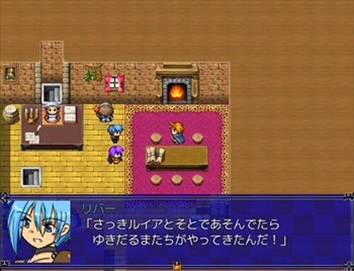 冬と夜空とゆきだるま Game Screen Shot2