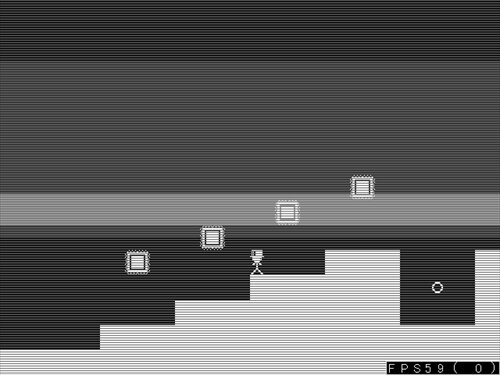 MONOCHROMEDOTES the diary Game Screen Shot1