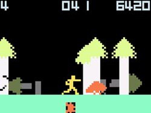 カラテカのようさく Game Screen Shots