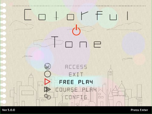 ColorfulTone Game Screen Shot1