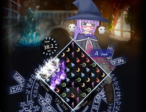 パズル『魔導箱のグリモワール』 Game Screen Shot2