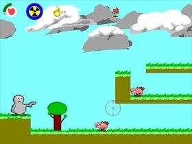 ロボVSモンスターズ Game Screen Shot5