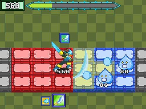 モックバトル(ExfloraWorld) Game Screen Shot