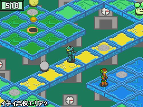 モックバトル(ExfloraWorld) Game Screen Shot2