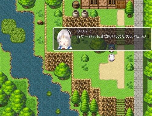 リリィのおつかい Game Screen Shot1