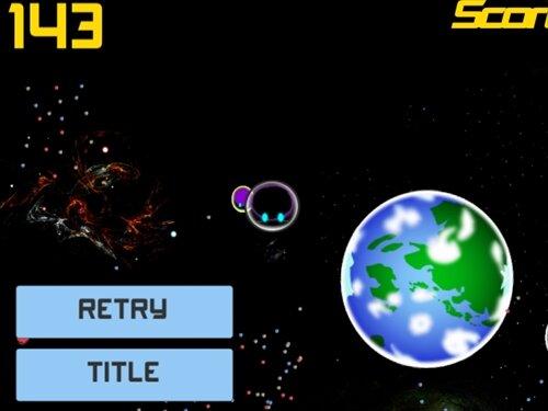 BlackHoleShip Game Screen Shot1