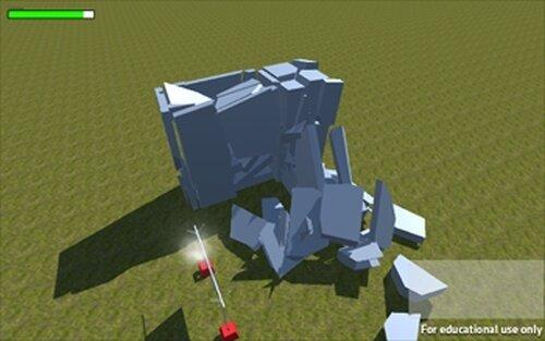 建物壊してドンジャラホイ Game Screen Shot2